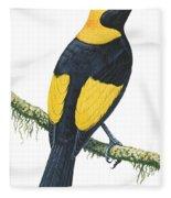 Bowerbird  Fleece Blanket