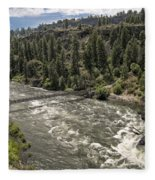Bowl And Pitcher Area - Riverside State Park - Spokane Washington Fleece Blanket