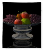 Bowl Of Fruit... Fleece Blanket