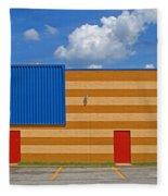 Bowling Alley Img 3587 Fleece Blanket