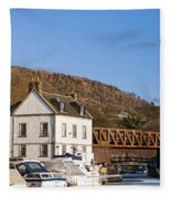 Bowling Harbour House Fleece Blanket