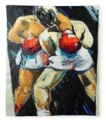 Boxing Fleece Blanket