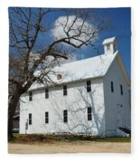 Boxley Schoolhouse Fleece Blanket