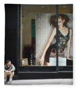 Boy Meets Girl Fleece Blanket
