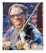 Boyd Tinsley And 2007 Lights Fleece Blanket