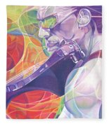 Boyd Tinsley And Circles Fleece Blanket