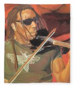 Boyd Tinsley At Red Rocks Fleece Blanket
