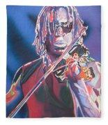 Boyd Tinsley Colorful Full Band Series Fleece Blanket