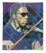 Boyd Tinsley-op Art Series Fleece Blanket