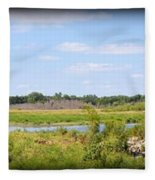 Boylan Marsh Fleece Blanket