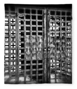 Boyne Falls Jail Fleece Blanket