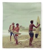 Boys Of Summer Fleece Blanket