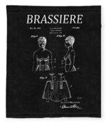 Bra Patent 16 Fleece Blanket