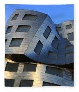 Brain Institute Building Las Vegas Fleece Blanket