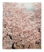 Branch Brook Cherry Blossoms Iv Fleece Blanket