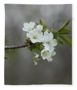 Branch Of Spring Fleece Blanket