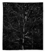 Branch Patterns Fleece Blanket