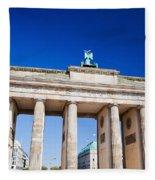 Brandenburg Gate Fleece Blanket
