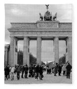 Brandenburger Tor - Berlin Fleece Blanket