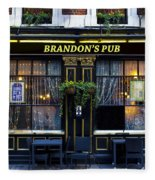 Brandon's Pub Fleece Blanket