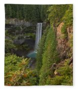 Brandywine Falls Plunge Fleece Blanket