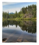 Brandywine Swim Lake Fleece Blanket