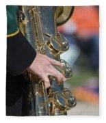 Brass Musical Instrument 01 Fleece Blanket