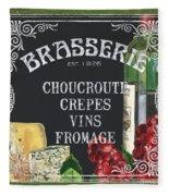 Brasserie Paris Fleece Blanket