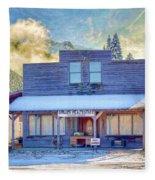 Brauer Real Estate Linwood Kansas Fleece Blanket