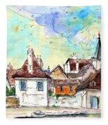 Bray Sur Seine 02 Fleece Blanket