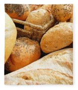Bread Fleece Blanket
