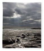 Break In The Clouds Fleece Blanket