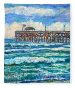 Breakers At Pawleys Island Fleece Blanket
