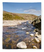 Breamish River Fleece Blanket