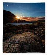 Breathless Sunrise II Fleece Blanket