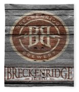 Breckenridge Brewery Fleece Blanket