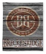 Breckenridge Brewery Fleece Blanket