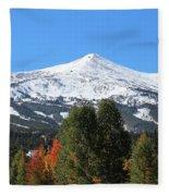 Breckenridge Colorado Fleece Blanket