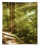 Eternal Woods Fleece Blanket