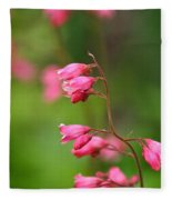 Breezy Coral Bells  Fleece Blanket