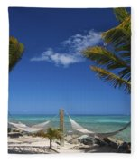 Breezy Island Life Fleece Blanket