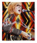 Brett Dennen Fleece Blanket