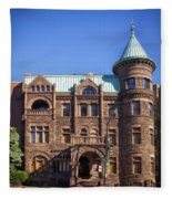 Brewmaster Castle - Washington Dc Fleece Blanket