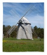 Brewster Windmill Fleece Blanket