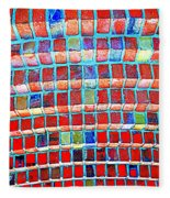 Brick Beauty Fleece Blanket