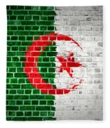 Brick Wall Algeria Fleece Blanket