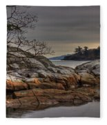 Tranquil Waters Fleece Blanket