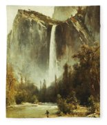 Bridal Falls Fleece Blanket