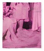 Bridal Pink By Jrr Fleece Blanket