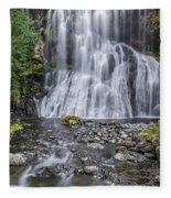 Bridal Veil Falls Fleece Blanket
